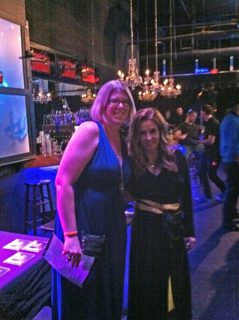 me and Lisa Marie Presley 6.15.12