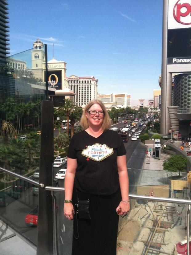 my 40th in Vegas