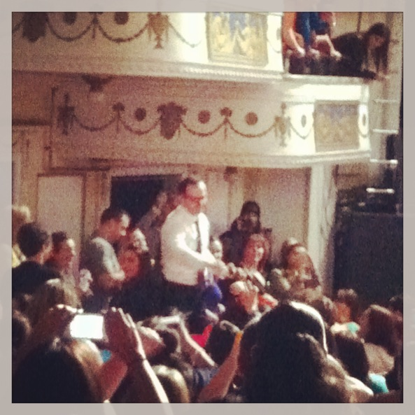 Donnie in the audience!
