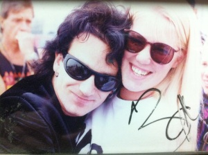 Bono and me 1992 Giants Stadium