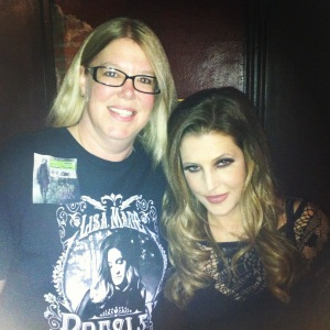 Me and Lisa Marie Presley 11.11.12