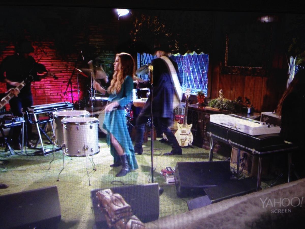 Lisa Marie Presley Performs In Jungle Room At Graceland