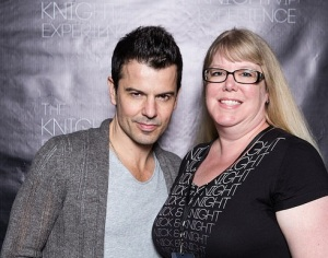 Jordan Knight and me 10.11.14 Philly