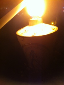 47a lighting my candle