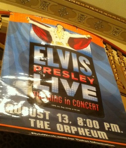 8a Elvis concert at the Orpheum 8.13.11