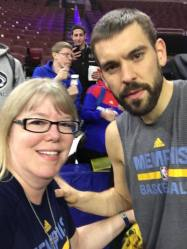 me and Marc Gasol 11.23.16