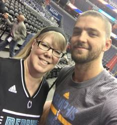 me and Chandler Parsons 1.18.17