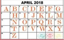 2018-calendar-a-to-z