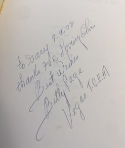 betty signed