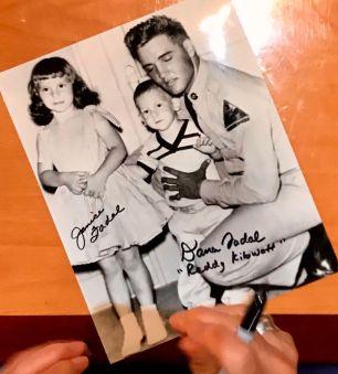 photo signed