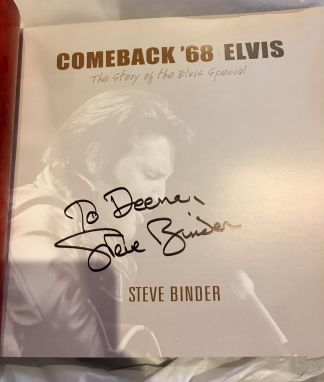 Comeback '68 the Story of the Elvis Special by Steve Binder
