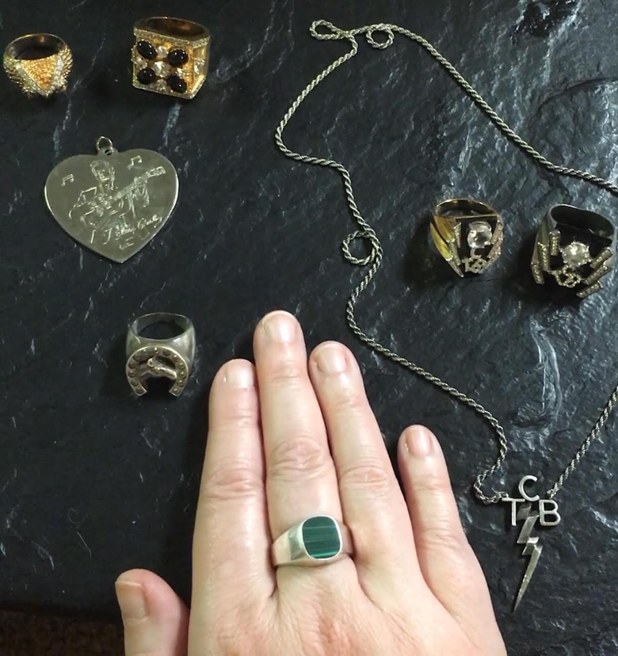 8 my elvis ring andjewelry